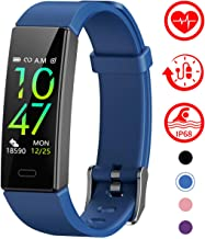 Mgaolo Fitness Tracker with Blood Pressure Heart Rate Sleep Monitor,10 Sport Modes IP68 Waterproof Activity Tracker Fit Smart Watch with Pedometer Calorie Step Counter for Women Men Kids