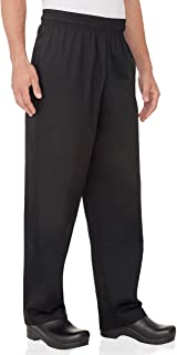 Chef Works mens Essential Baggy chefs pants, Black, XX-Large US