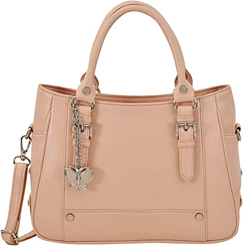 Butterflies Women Handbag Peach BNS 0720PCH