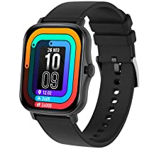 [For ICICI Credit Card Users] Fire-Boltt Beast BSW002 SPO2 Fitness Smartwatch (Black)