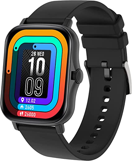 """Fire-Boltt Beast SpO2 1.69"""" Industry's Largest Display Size Full Touch Smart Watch with Blood Oxygen Monitoring, Heart Rate Monitor, Multiple..."""