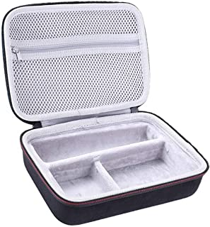HEALLILY Hair Clipper Storage Case Shaver Carrying Case Razor Bag for Outdoor Travel Trip Hair Cutting Accessories