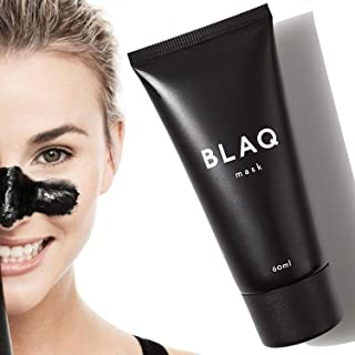BLAQ Activated Charcoal Peel Off Face Mask | Blackhead Remover Mask | Deep Cleansing, Pore Refining Black Mask | Charcoal ...