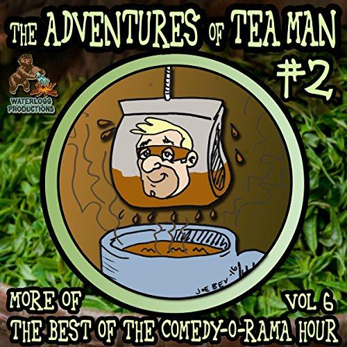 The Adventures of Tea Man, Vol. 2 cover art