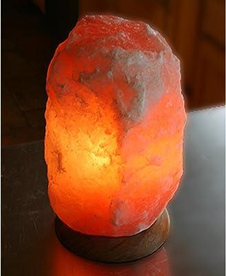 Del Himalaya Cristales De Sal Lámpara - Brillante Purificador De ...
