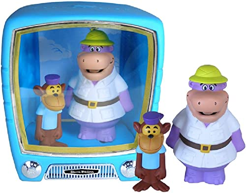 Hanna-Barbera Peter POTAMUS & SO SO Monkey 2 Figuren aus PVC ca 10-15cm im `TV Set′ aus PVC Funko