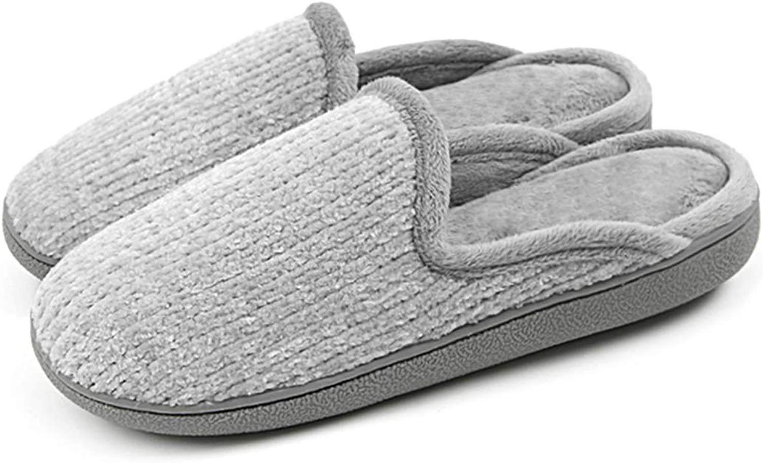 DoreenDory Women Cozy Plush Fleece Home Slippers Non-Slip Soft Sole Indoor House shoes