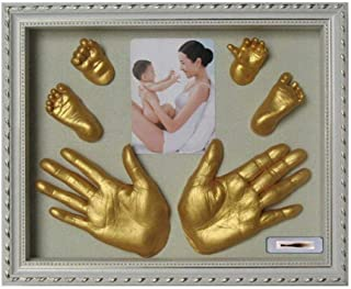 Wooden Photo Frame with Handmark and footmark