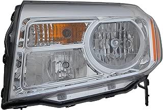 Headlight Replacement For Honda Pilot Driver Left Side Lh 2012 2013 2014 2015 Headlamp Assembly