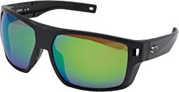 Matte Black Frame/Green Mirror Lens 580P