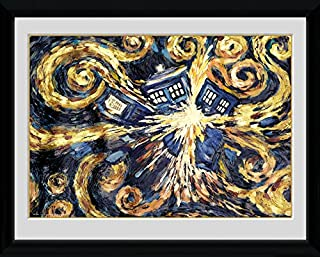 GB eye 16 x 12-inch Doctor Who Exploding Tardis Framed Photograph, Assorted