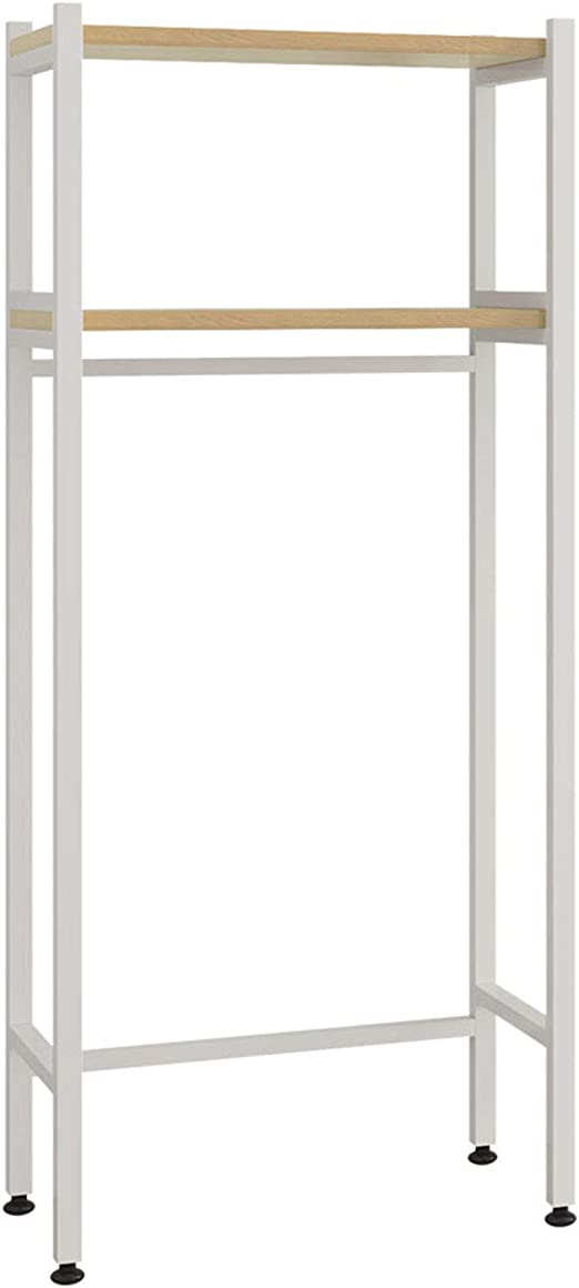 UDEAR 3 Shelf Bathroom Space Saver,Over The Toilet Rack,Bathroom Corner Stand Storage Organizer Accessories,Bathroom Tower Shelf,White