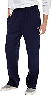 Champion Authentic Men's Open Bottom Jersey Pants_Navy