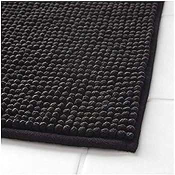 Non Slip Bathroom Rugs Chenille Bath Rug Soft Microfiber Shaggy Mat Water Absorb