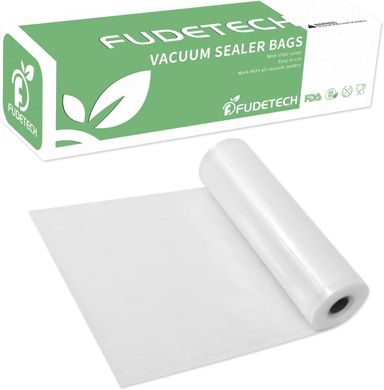 F Fudetech Vacuum Sealer BagsRolls 11