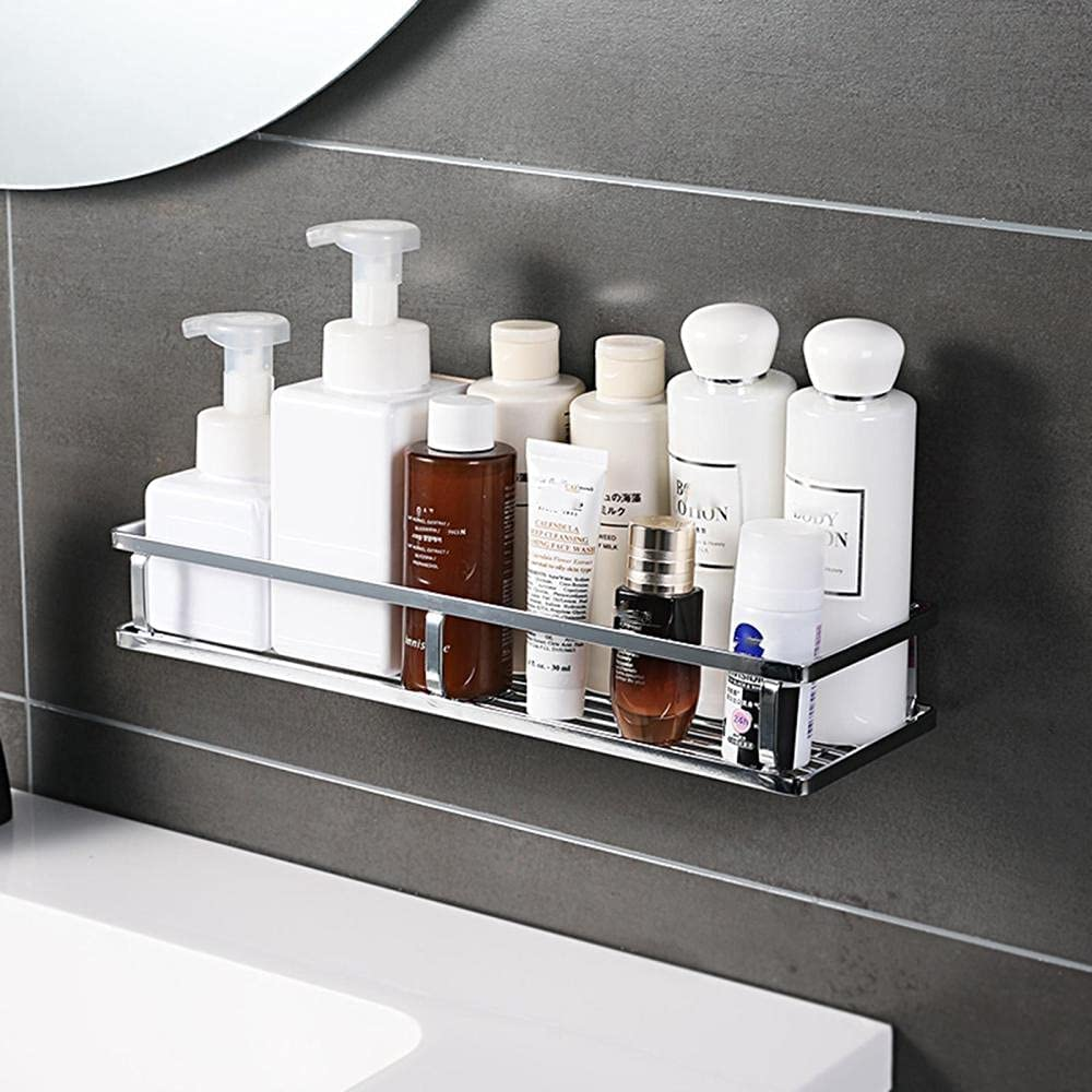 Spring new work one after another Shower Caddy Wall Max 58% OFF Mounted Shelf Cup Suction S Rack