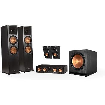 Klipsch RP-8000F 5.1 Home Theater System - Ebony
