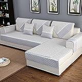 HM&DX Anti-rutsch Sofa Abdeckung Für Sektionaltore Couch Baumwolle Polyester Gesteppter