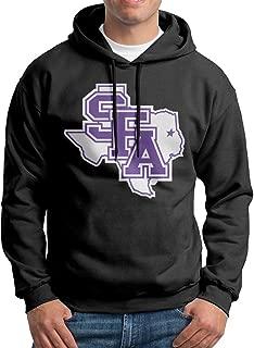 AuSin Men's SFA Logo Sweatshirt Black