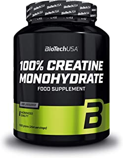 BioTechUSA 100% Creatine Monohydrate Pharmazeutisch reines Creatin-Monohydrat-Pulver,..