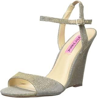 Betsey Johnson Women's Duane Wedge Sandal