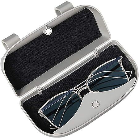Cdefg Sonnenbrillenhalter Brillenetui Für Toyota Chr 2016 2020 Auto Brillenhalter Auto Glasses Case Holder Brillenetui Käfig Schwarz Auto