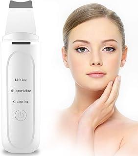 Skin Scrubber Depurador Ultrasónico Facial 2NLF Limpiador Ultrasónico Facial 7 In 1 Electric Blackhead Remover para Punto...