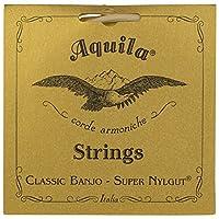 Aquila新しいナイルガットaq-1bバンジョー弦–Medium Tension DBGDG–1セットof 5(第4レッドシリーズ文字列)