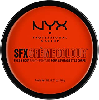 NYX PROFESSIONAL MAKEUP SFX Creme Colour, Orange, 0.21 Ounce