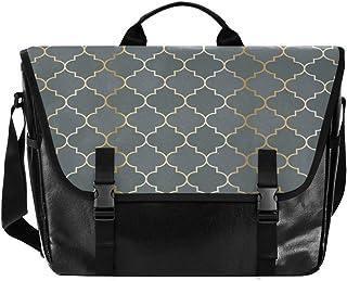 Bolso de lona de tartán marroquí para hombre y mujer, estilo retro, ideal para iPad, Kindle, Samsung