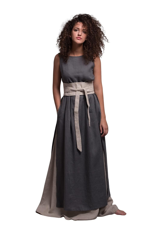 Long Linen Skirt AIRA - Industry No. 1 2021 Regular Plus Size Tall Custom made