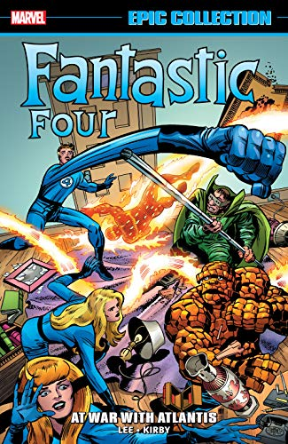 Fantastic Four Epic Collection: At War With Atlantis (Fantastic Four (1961-1996)) (English Edition)
