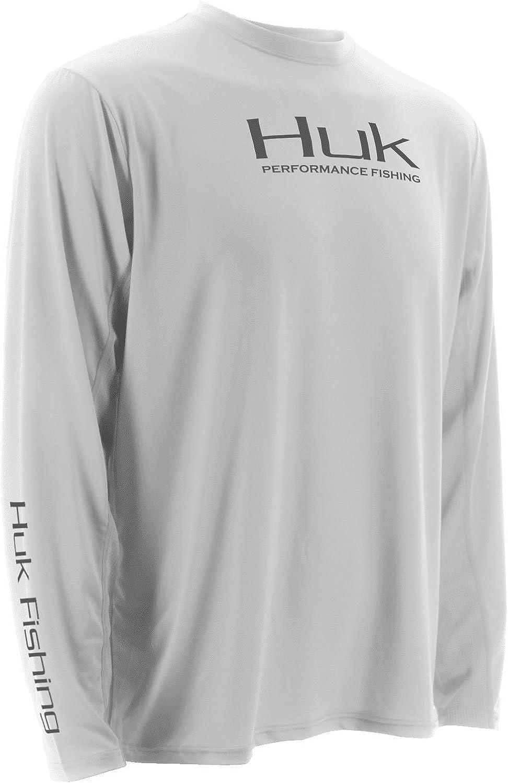 HUK Performance Fishing Men's Icon Long Sleeve TShirt