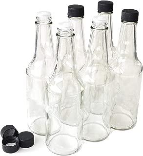 NiceBottles - Hot Sauce Bottles, 10 Oz - 6 Pack