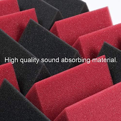 Paneles de espuma acústica, azulejos de amortiguación de