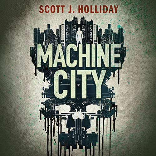 Machine City audiobook cover art
