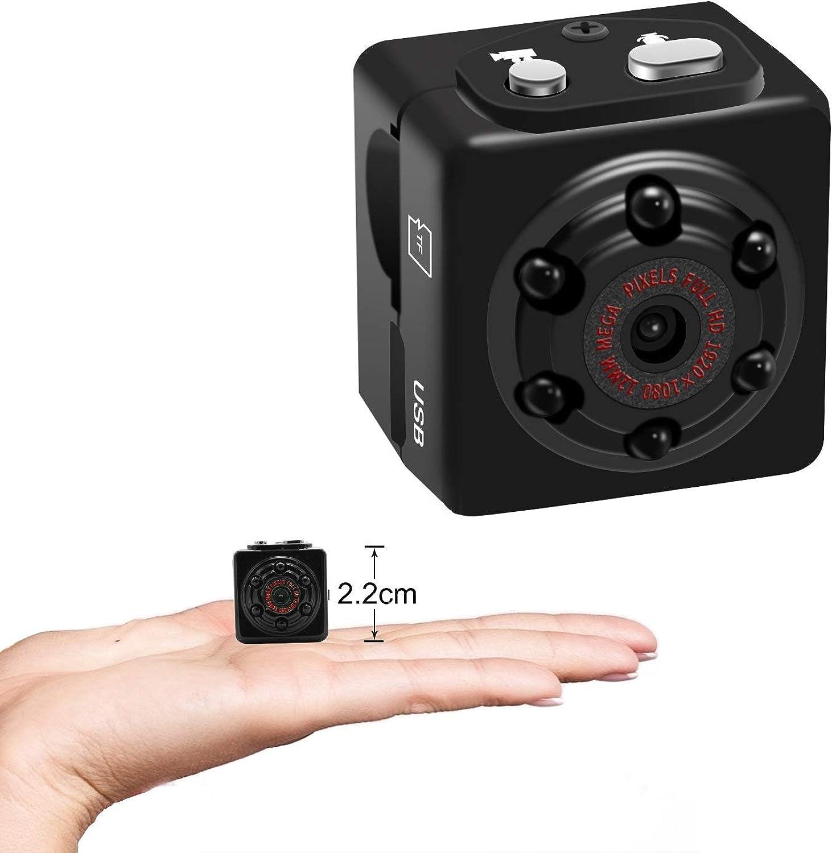 1080P Mini Camera Voice Recorder Sports HD DV Portable Small Camera Mini Sound Video Camera with Motion Detection
