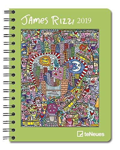James Rizzi 2019: Buchkalender Kunst