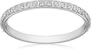 Kobelli 2/5 cttw Round-Cut Diamond 14k White Gold Eternity Band