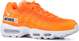 Nike Men's Air Max 95 SE Total Orange/White/Black AV6246-800 (Size: 10.5)