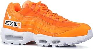 Nike Air Max 95 Se Unisex Running, Size 9, Color Total Orange/White/Black