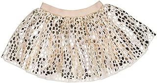 HUXBABY Baby Girl's Leopard Tulle Skirt (Infant/Toddler)