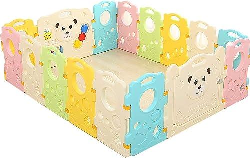Obtén lo ultimo Corralito Niño Bebé Bebé Bebé Juego Valla Baby Crawling Mat Niño Guardrail Safety Playpen Home Indoor Fence Toy (Tamaño   14+2)  barato
