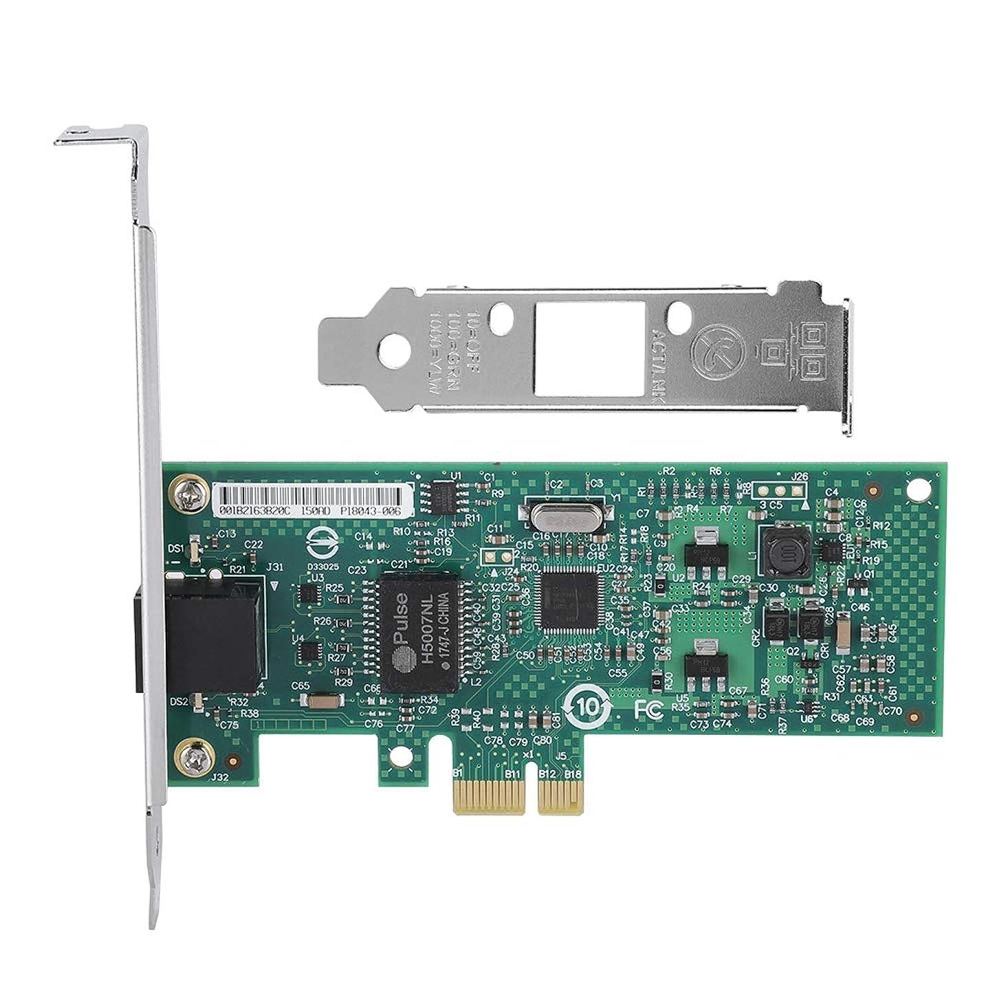 ソケット登場によってFosa INTEL 82574LギガビットPCI-eネットワークアダプタカード デスクトップ1000Mbps NIC LEDインジケータ用