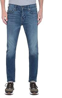 True Religion Men's Rocco Relaxed Skinny No Flap Denim Jeans