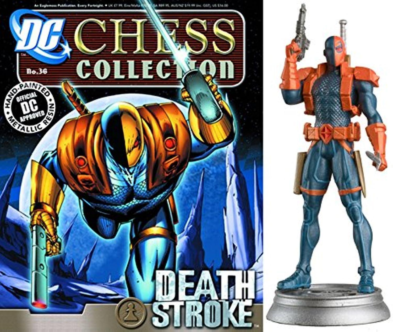 Figuren des Schachspiels Harz DC Comics Chess Collection No 36 Deathstroke