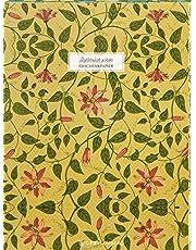 Gefährlich schön Geschenkpapier-Heft - Motiv Rote Blume: 2 x 5 Bögen