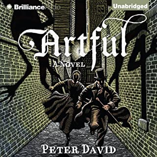 Artful audiobook cover art