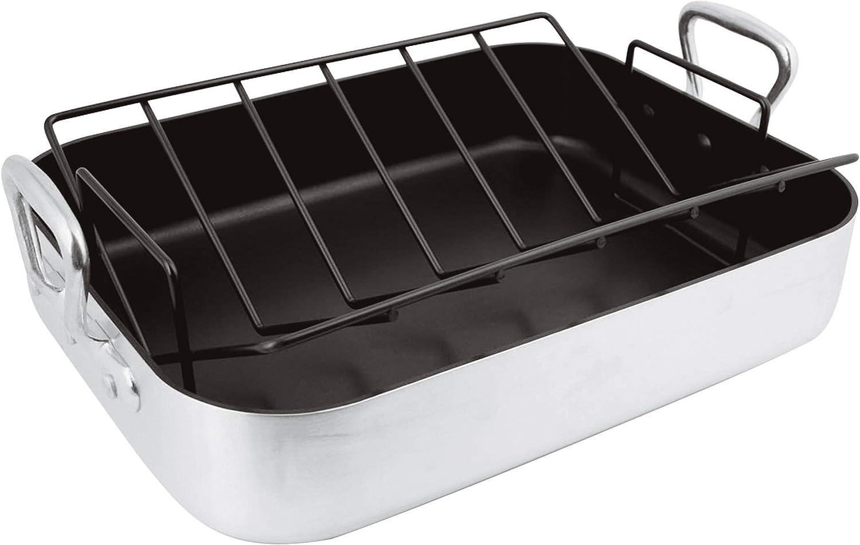 BelleVie Non Stick Roasting Pan L 15 3 H 4 years warranty 8 1 4