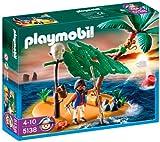 PLAYMOBIL - Isla desierta y náufrago (5138)